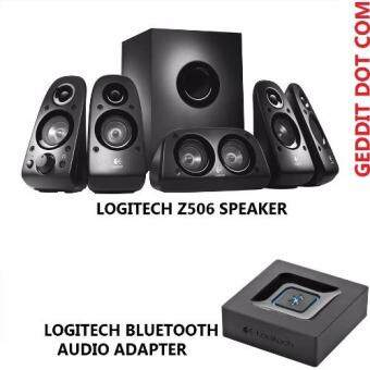 LOGITECH Z506 SPEAKER + LOGITECH BLUETOOTH AUDIO ADAPTER