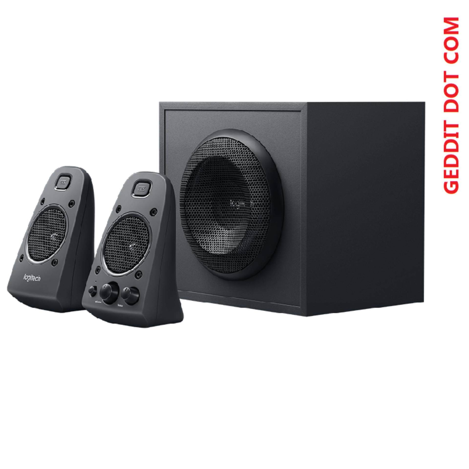 LOGITECH Z625 SPEAKER SYSTEM WITH SUBWOOFER AND OPTICAL INPUT Malaysia
