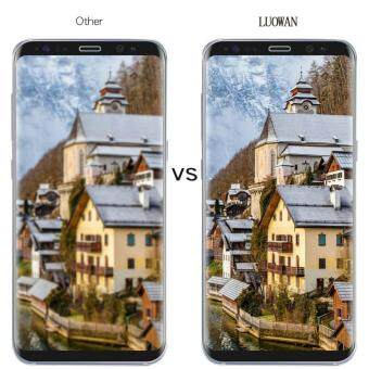 LUOWAN Galaxy S8 Plus Tempered Glass Screen Protector,3D Full Coverage Screen Protector for Galaxy S8 Plus (Clear) - 5