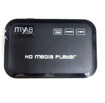 Harga M3 Full HD USB HDD Media Player HDMI VGA MKV MP4 RMVB AVI WMV