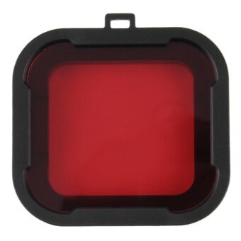 MADPRO Diving Filter HERO4/3+ For Blue Water (Red)
