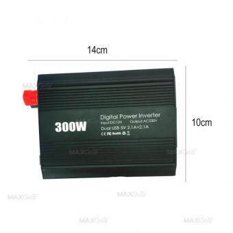 MAXGear 300W Car Power Inverter wt AC Outlet and 3.1A Dual USBCharger CAR-OEM-001