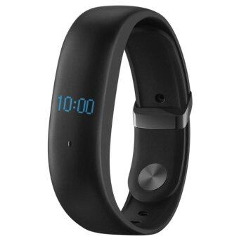 Harga MEIZU H1 Heart Rate / Sleep Monitor Smart Wristband IP67 WaterproofFitness Smart Bracelet - Black