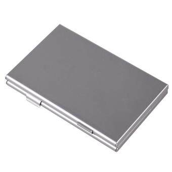 Harga Metal Aluminum Micro SD TF MMC Memory Card StorageBox ProtecterCase Holder