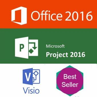 Harga Microsoft Office 2016 + Visio 2016 + MS Project 2016 (bundle)