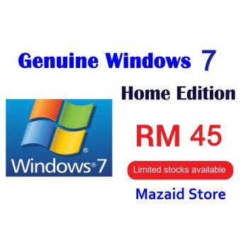 Microsoft Windows 7 Home Unlimited Reinstall