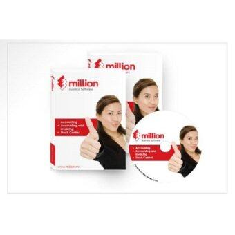 Harga Million Software - Account + Invoicing Billing (Single User) - Free8GB Pen Drive