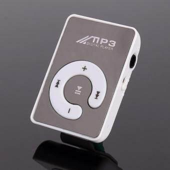 Mini Clip USB Digital Mp3 Music Player Sport MP3 With Micro SD TFCard Slot MP3 Player + Free 8GB Memory Card - 5