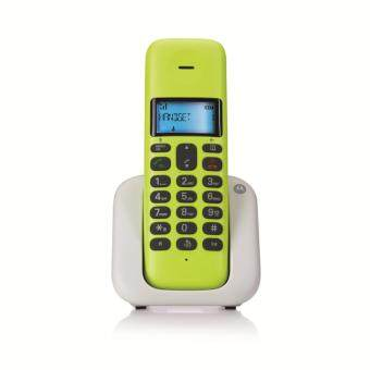 Harga Motorola Single Dect Phone T301 Lemon Lime