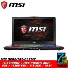 MSI GE62 7RE 052MY APACHE PRO (GTX1050Ti 4GB GDDR5) Malaysia