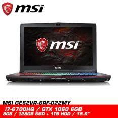 MSI GE62VR 6RF 022MY APACHE PRO (GTX1060 6GB DDR5) Malaysia
