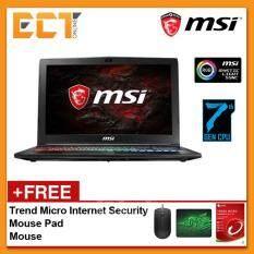 MSI GP62MVR 7RFX-898 Leonard Pro 15.6 FHD Gaming Notebook (i7-7700HQ,1TB+256GB SSD,8GB,GTX1060-6G,W10) - Black Malaysia