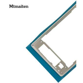 Mtmaiten New Silver middle frame middle Rear housing ReplacementPlate Compatible for Sony Xperia Z1 L39h C6903 - 3