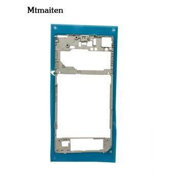Mtmaiten New Silver middle frame middle Rear housing ReplacementPlate Compatible for Sony Xperia Z1 L39h C6903 - 2