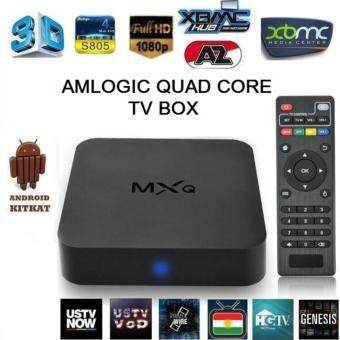 Harga MXQ Amlogic 4000+TV CHANNEL Tvbox S805 4.4.2 Android TV BoxQuadCore FULL HD 1080P TV BOX