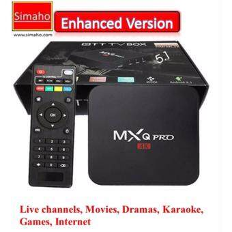 Harga MXQ android tvbox (enhanced version) IPTV tv box kodi xiaomi MI mxq tmall himedia unblocktech ubox evpad