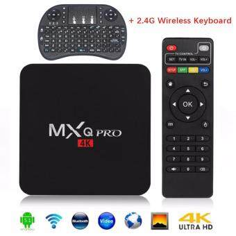 Harga MXQ PRO Android 5.1 TV Box S905 Quad Core 1G/8GB/4K Wifi HDMI(UKPlug)