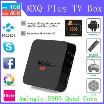 Harga MXQ PRO Smart TV Box Quad Core Android 5.1 1GB+8GB KODI XBMC (UKPlug)