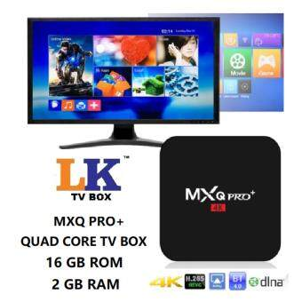 Harga MXQ PRO+Amlogic S905 4000+TV CHANNEL Tvbox Android 6 16GB ROM TVBox QuadCore 2GB RAM 4K ULTRA HD