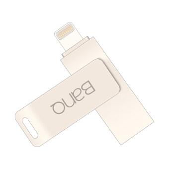 New BanQ A6S OTG USB Flash Drives Pen Drive 64G Capacity ExpansionFor iPhone iPad iPod APPLE MFi JetDrive Go 500 - 3