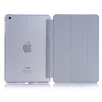 New iPad 2017 iPad 9.7 inch / Ipad Air (ipad 5) case, Welink Ultra Slim Smart Cover PU Leather Case for Ipad Air (ipad 5) / New iPad 2017 iPad 9.7 inch (Grey)