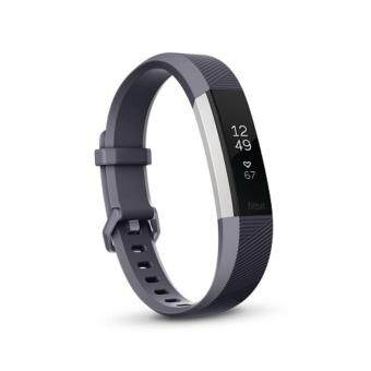 "Harga [New Launch] Fitbit Alta HR Heart Rate + Fitness Wristband Large6.7"" - 8.1"" (Blue Gray)"