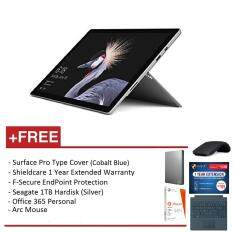 NEW Microsoft Surface Pro - Core i5 8G/256GB Free Surface Pro Type Cover (Cobalt Blue) + Shieldcare 1 Year Extended Warranty + F-Secure EndPoint Protection + Office 365 Personal + Arc Mouse (Black) + Seagate 1TB External Hard Disk(Silver) Malaysia