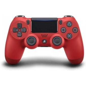 Harga [New Version] DualShock(R)4 Wireless Controller for PlayStation 4 (PS4) CUH-ZCT2G/Red