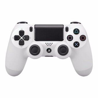 Harga [New Version] Sony DualShock 4 Wireless Controller for PlayStation 4 (White) - 1 Year Sony Malaysia Warranty