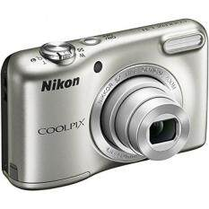 Nikon COOLPIX L31 5x Optical Zoom 2.7 inch Lens Compact Digital Camera Certified -Silver