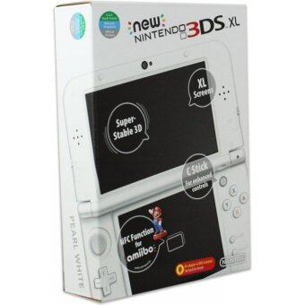 Harga Nintendo New 3DS XL-Asia Glacier White