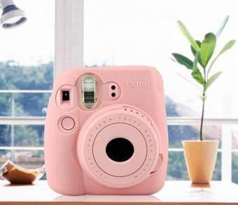 Noctilucent Camera Case Skin Cover For FUJIFILM Instax Mini8 Mini8sPink - 3