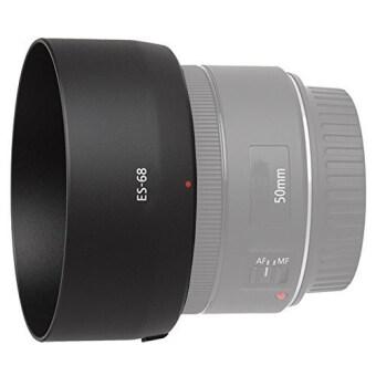 OEM ES-68 Circle Mount Camera Lens Hood for Canon Ef 50mm F1.8 STMLen Black Color