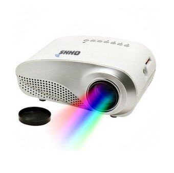 OHHS RD802 Mini LED Projector And Tripod (White)