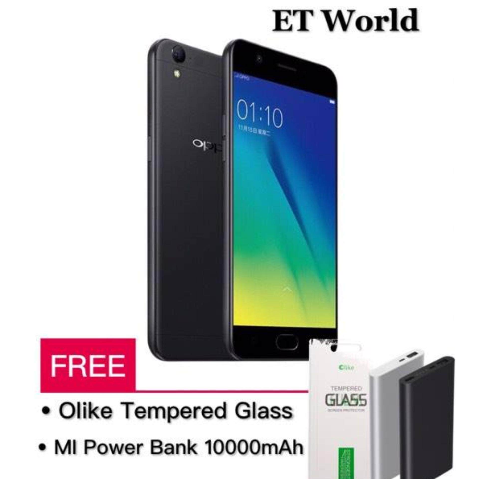 Oppo A37 Malaysia Mi Power Bank 10000mah Original Tempered Glass Screen Protector Cover Black 2gb 16gb