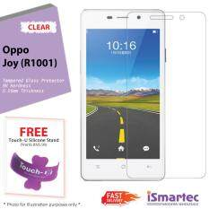 Softcase Ultrathin Soft For Oppo Joy R1001 Biru Clear .