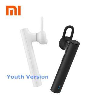 Harga Original Xiaomi MI Bluetooth 4.1 Headset Young version with MIC (White)