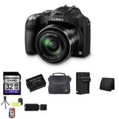 Panasonic Lumix DMC-FZ70 DMC-FZ70K DMCFZ70K Digital Camera + 32GB SDHC Class 10 Memory Card