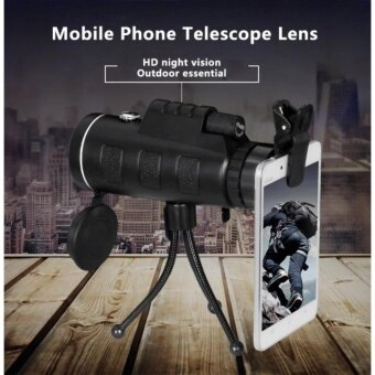 PANDA External lens for iphone Samsung General mobile phone lens camera Telephoto 40X60 high-power ultra-clear outdoor telescope