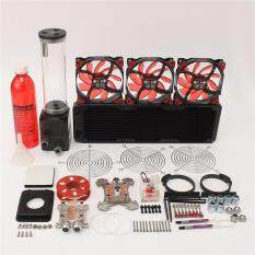 PC Liquid Water Cooling 360 Radiator Kits Pump 220mm Reservoir CPU GPU HeatSink Malaysia