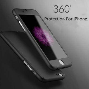 Harga (phone case)360 Whole Package PC Phone Protective Hard CaseProtector for iPhone 5 5s SE/6/6plus/6s/6s plus/7/7 plus