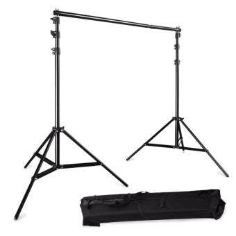 Photo Studio 2M * 2M Adjustable Background Backdrop Support SystemStand