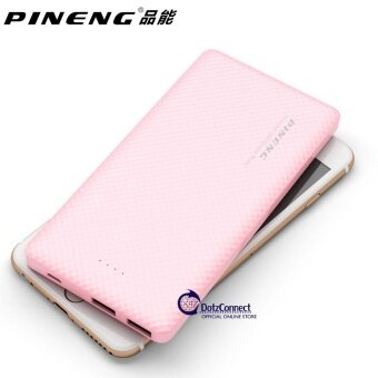 Pineng PN-958 Pink 10000mAh Super Slim Li-Polymer Power Bank