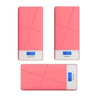 Pineng Pn-983 Power Bank 10000Mah-Pink (3 Unit)