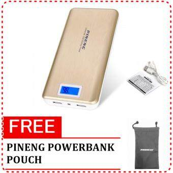 Pineng PN-999 High Capacity 20,000mAh PowerBank 2USB Port With LED Display