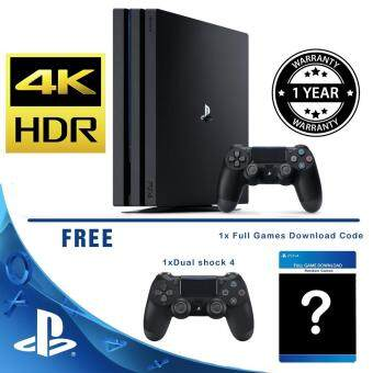 Harga Playstation 4 Pro 1TB Started Bundle (Sony Malaysia Warranty)