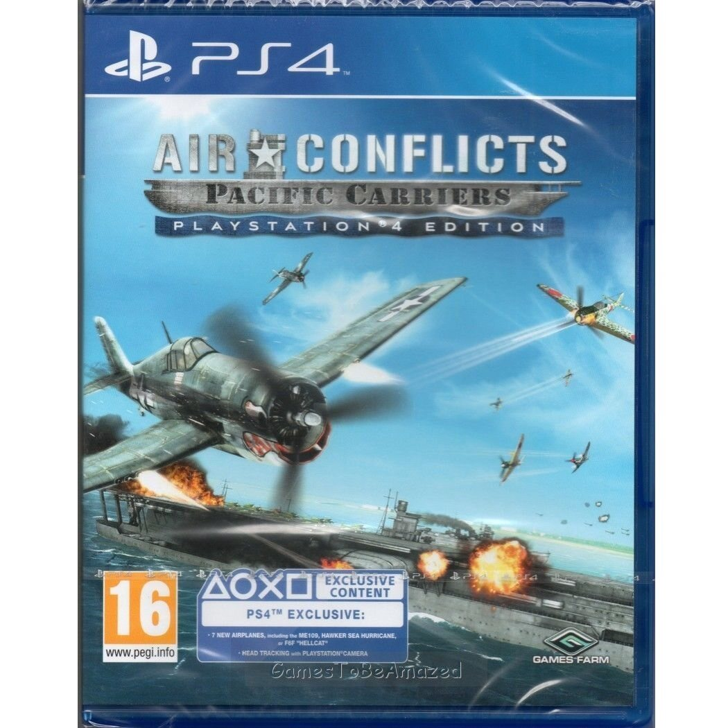 Air Conflicts Pacific Carriers скачать игру - фото 10