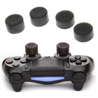Harga PS4 THUMB GRIP THICK 4PCS (Black) Ready Stock