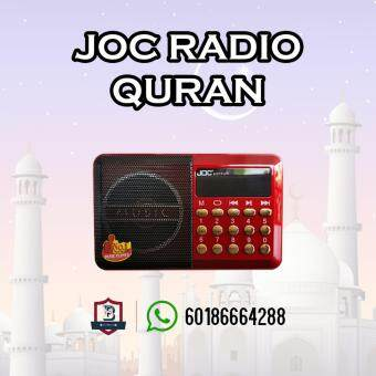Harga Radio al-Quran JOC + 8G Memory Card Complete with Surah and CeramahAgama