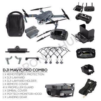 Harga (Ready Stock) DJI Mavic Pro Combo with Total 2 Batteries + ShoulderBag + FREE GIFTS (Official DJI Malaysia Warranty)